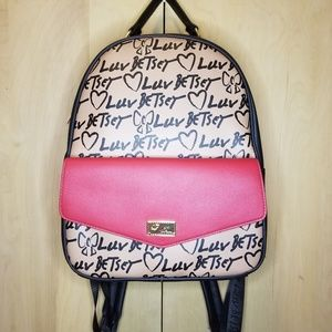 Betsey Johnson Backpack NWT